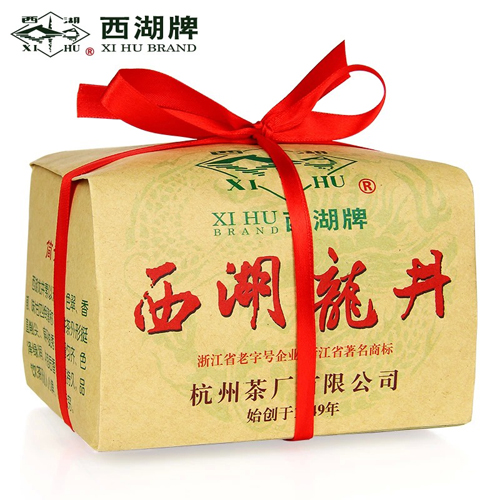 2014新茶 西湖牌龙井茶 雨前西湖龙井茶叶250g纸包