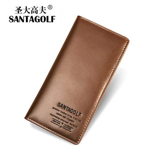 圣大高夫男士长款钱包 多卡位多功能男士商务钱包票夹