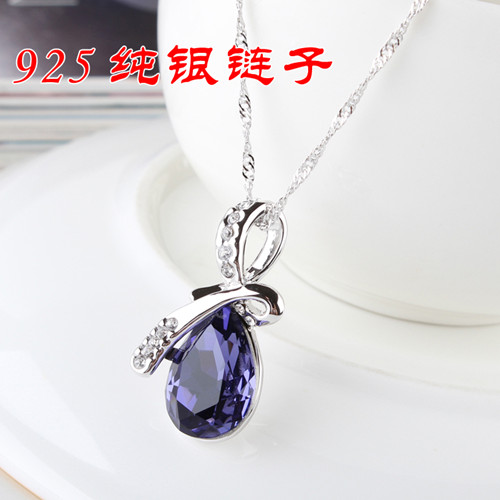 水晶项链开学实用教师节礼物送女老师送恩师老婆送女友生日礼物送