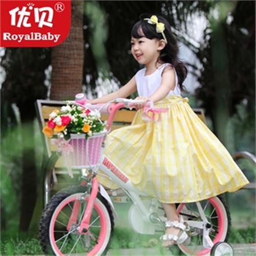 优贝儿童自行车珍妮公主JENNY女孩儿童自行车16寸