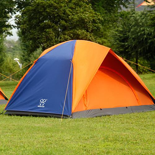 双十一特卖―盛源双层野营防雨双人露营帐篷