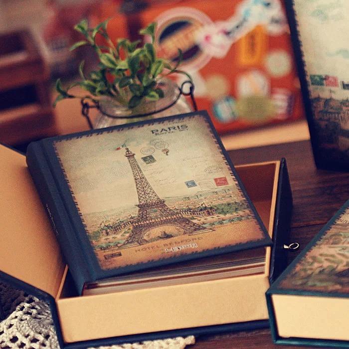 《埃菲尔的天空》浪漫复古日记本