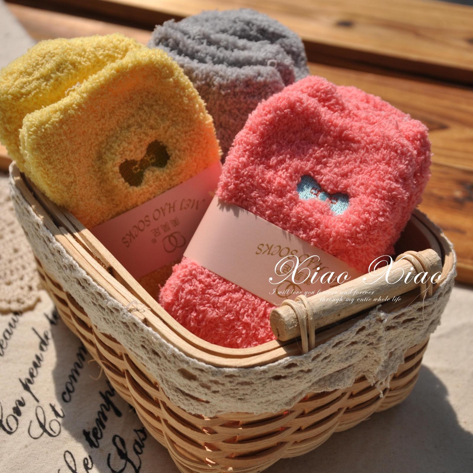 日系毛巾袜
