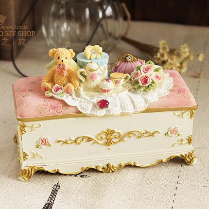 童话之旅首饰盒