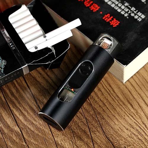 活跃F2款金属电子点烟器