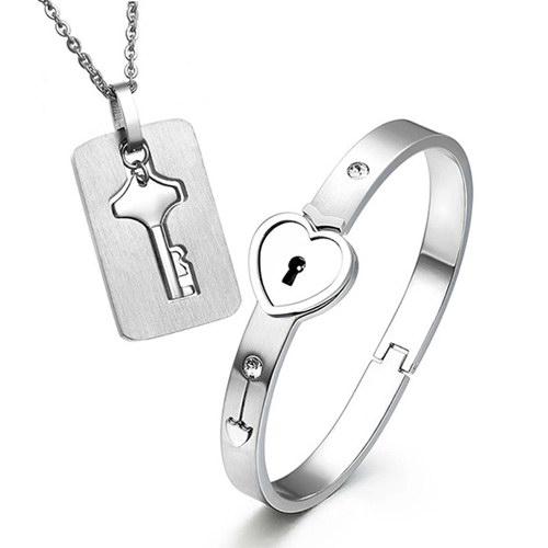 情侣饰品套装 小礼物送女友男友创意特别的新奇浪漫惊喜中秋礼品