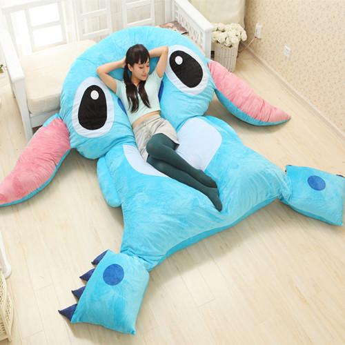 榻榻米床垫 懒人沙发 超大号史迪奇床 送女友男友生日礼物 送孩子