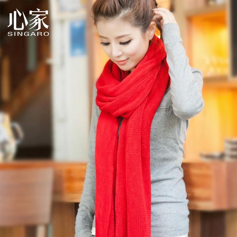 韩国毛线围巾女士围脖