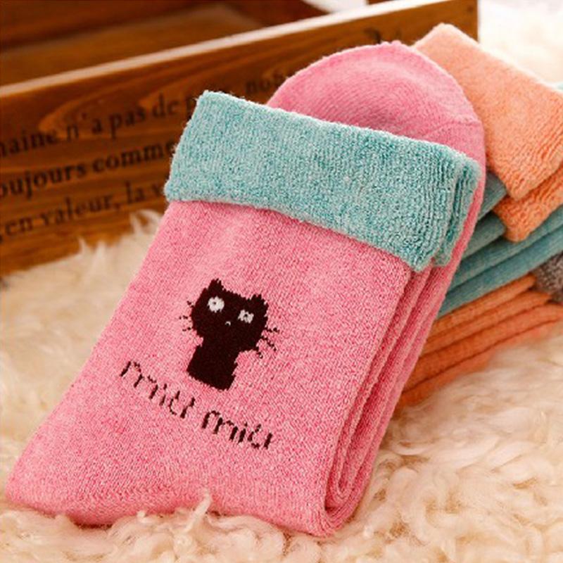 小猫松口袜